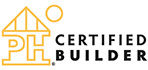Passive House US Certified Builder Logo - used under License.